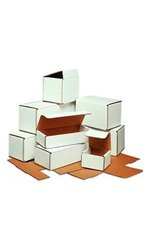 "Shipping Supply 5"" x 4"" x 3"" Mailer Boxes - 50/Case (M543)"