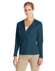 White Sierra Women's Bug Free Zip Hoodie - Pond - Size: X-Large