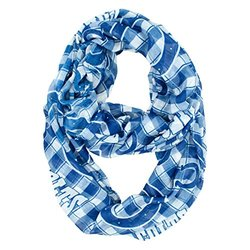 Nfl Plaid Infinity Scarf: Indianapolis Colts