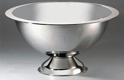 Punch Bowl, 15, 3 Gallon STAINLESS STEEL COLLECTION