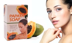 Etel USA Enriched Moisturizing Papaya Infused Soap - 5 Pack