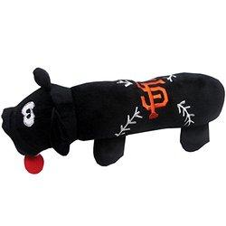 MLB Plush Pet Baseball Bat Toy: San Francisco Giants