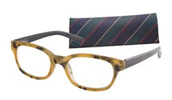 ICU Eyewear 7300 Unisex 49mm Reading Glasses - Tortoise/Clear