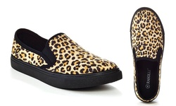 Rasolli Women's Fashion Sneakers Walk-3 - Brown - Size: 6.5