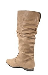 Carrini Women's Slouchy Boots - Stone - Size: 7