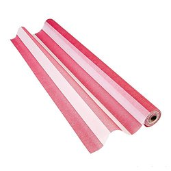 Red & White Gossamer Roll 100 FT X 3 FT Wedding Aisle Decoration Table Cover NEW