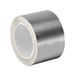 "3M 6 yd L x 2"" W Silver Tin/Copper/Acrylic Adhesive Embossed Foil Tape"