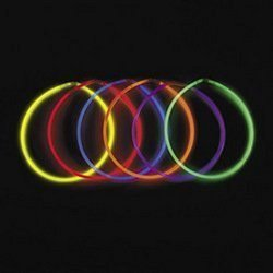 Fun Express Glow Necklaces - Assorted Colors (50-Pack)