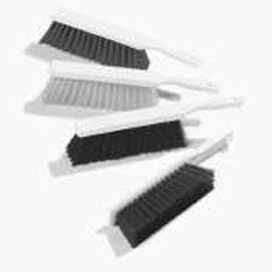 "Carlisle 4137203 Spectrum DuoSet Counter Brush, Plastic Handle, 2-1/2""-Long Black Polyester Bristles, 8"" Brush Length, 13"" Overall Length (Case of 12)"