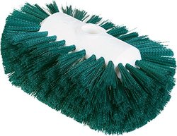 "Carlisle 4004109 Sparta Spectrum Flare Head Tank and Kettle Brush, Green Polyester Bristles, 7-1/2"" L x 5-1/2"" W (Case of 12)"