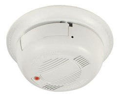 """COP-USA SDR35-H model SDR35 High Resolution 520TVL Functional Smoke Detector Covert Color Camera with Real Alarm Beep, White Enclosure, 1/3"""" Color CCD Camera, 0.1 LUX, 12VDC 150mA, 3.7mm Pinhole lens, NTSC 512 x 492 pixels, PAL 512 x 582 Pixels, 520 Lines"""