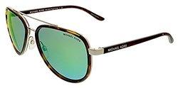 Michael Kors Women's Playa Norte Tortoise / Green Lens Sunglasses