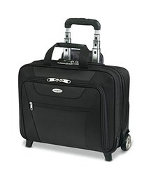 Samsonite(R) Wheeled Business Case, 13in.H x 17in.W x 6 1/2in.D, Black