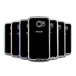 VOIA AirShield Samsung Galaxy S6 Bumper Jelly Case - Red