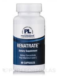 Progressive Laboratories Renatrate Vitamins C Capsules 90mg