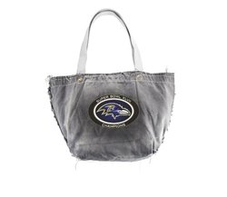 NFL Baltimore Ravens Super Bowl XLVII Champions Vintage Tote Bag, One Size, Black