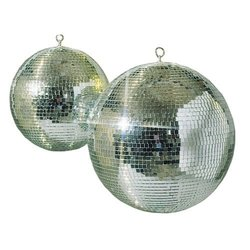 Visual Effects Glass Mirror Ball - Size:12""