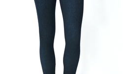 4pk Hi Waist Cotton/spandex Leggings    Hl1000b-s/m    Black    S/m