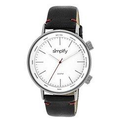 Simplify The Men's Watch: Black Band/3300 Sim3301