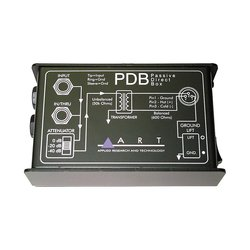 ART PDB Passive Direct Box for Connecting Electric Instruments
