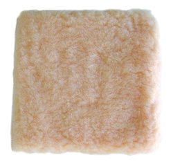 Magnolia Brush Soft Synthetic Fleece Square Wash Mitt with Closed End