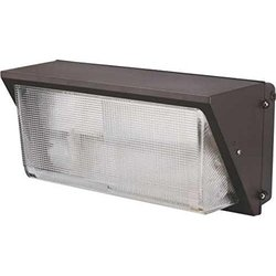 Monument 297159 Wall Pack, High Pressure Sodium Aluminum Body with Tempered Glass, 250W MH Lamp Included, Bronze