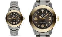 Luxury Crystal Paris Watch set w/ 8 Crystals from Swarovski - Polyurethane