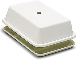 """Carlisle Compartment Tray Cover Fits - White - Size: 10""""x14.5"""""""
