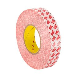 "3M 9088 4"" x 36yd Clear Acrylic High Performance Double Coated Tape"