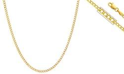 """14K Gold Cuban Chain - 24"""""""