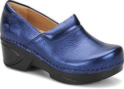 256867 Nurse Mates Chloe Blue Metallic Size 9