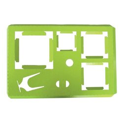 PacknWood Paper Insert for Square Paper Boxes - Green