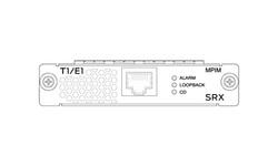Juniper SRX Sync Serial Mini Physical Interface Module - 1 Port