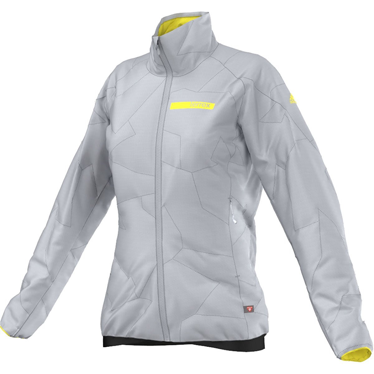 Swift Grey Clear SizeLarge Adidas Jacket Women's Check Terrex Back Soon Primaloft 354jALRq