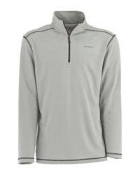 White Sierra Men's Techno Performance 1/4 Zip Shirt - Ash - Size: Large