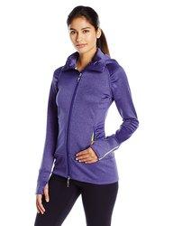Tamagear Women's Saddleback Full Zip Mid-Layer Jacket - Blueberry - Large