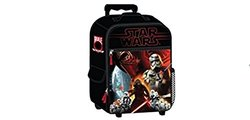 "Star Wars Luggage Kylo Ren And Troopers 17"" Rolling Pilot Case - Red"