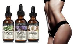 Skin Pasion Body Oils 4 fl oz - Lavender