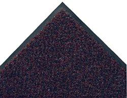 "Andersen 110 ColorStar Crunch Nylon Fiber Interior Floor Mat, SBR Rubber Backing, 3' Length x 2' Width, 3/8"" Thick, Garnet"