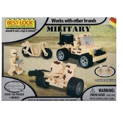 Best Lock Military Construction Toys -120 Pieces