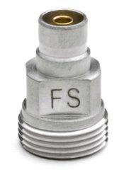 Fluke Networks FI1000-SCFC-TIP SC and FC Bulkhead Video Probe Tip for the FI-1000 Fiber Inspection Video Probe