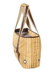 """Milan Pet Carrier, Dog Bag by Kakadu Pet, Regular, 16"""" x 12"""" x 7"""", Classic (Taupe)"""