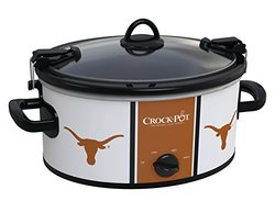 Texas Longhorns NCAA Crock-Pot? Cook & Carry? Slow Cooker, SCCPNCAA600-UTX
