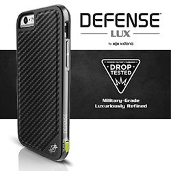 X-Doria Defense Lux Hard Shell Case for Apple iPhone 6 & 6s - Brown Croc