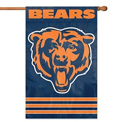 "Party Animal NFL Chicago Bears Banner Flag - Navy Blue - Size: 44"" x 28"""