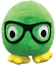 iscream Monstars Dexter Plush Round Microbead Pillow Friend