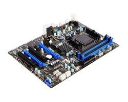 MSI Desktop Motherboard AMD 970 Chipset - Socket AM3+ - ATX (970A-G43)