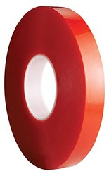 Avery Dennison AFB 6610C Double Sided Acrylic Foam Tape, Clear, 108 ft x 1.0 in, 39.4 mils Thick