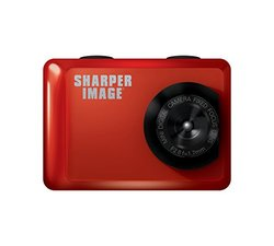 Sharper Image 720P Action Cam with Waterproof Case - Red (SVC555RD)