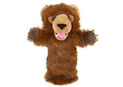 The Puppet Company - Long Sleeves - Grizzly Bear Hand Puppet [Toy]